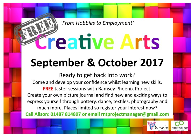 Creative Courses Flyer