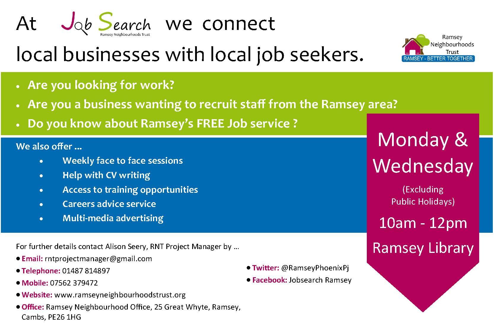 phoenix job search in ramsey - Find Local Jobs Using Local Job Search Sites