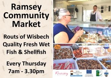 Thursday Market Fish ad