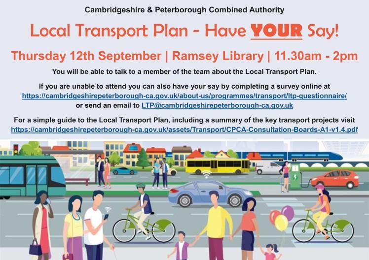 Transport meeting social media